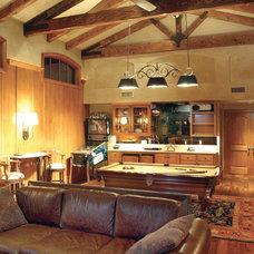 Traditional Home Theater by GRADY-O-GRADY Construction & Development, Inc.