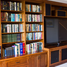 Modern Home Theater by Twin Lions Contracting Ltd.