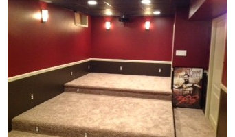 Simon Family DIY Basement Theater