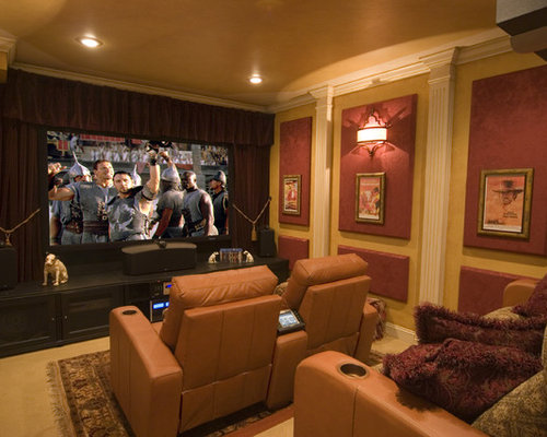 Acoustic Home Theater Panels Houzz