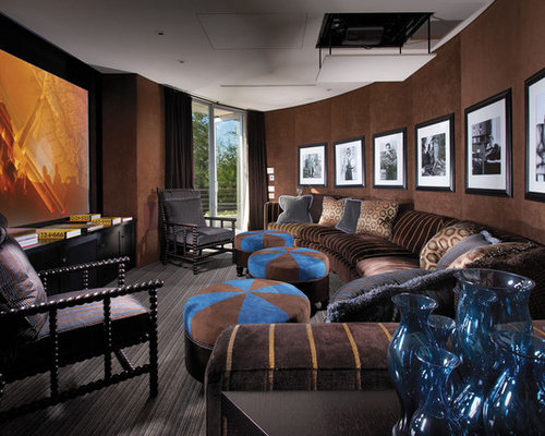 Blue And Brown Home Design Ideas Pictures Remodel And Decor