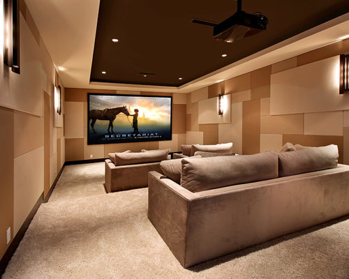 Home Theatre Walls Ideas Pictures Remodel And Decor