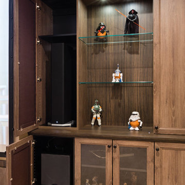 Star Wars Themed Theater Room