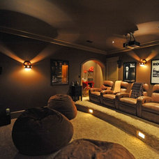 Rustic Home Theater steve Woolridge