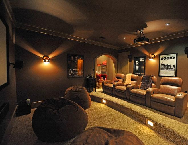Rustic Home Theater steve Woolridge