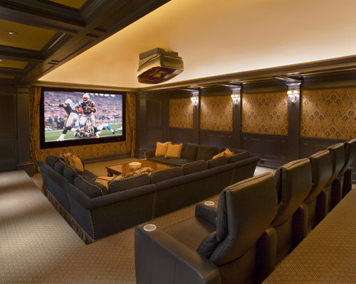 Media Room Seating Ideas Pictures Remodel And Decor