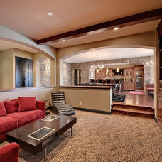Traditional Home Theater by Spacecrafting / Architectural Photography