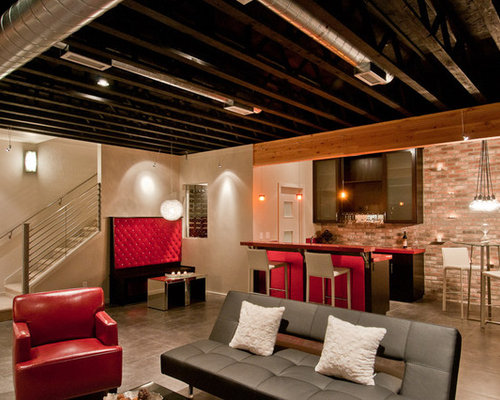 Unfinished Basement Ceiling Ideas Pictures Remodel And Decor