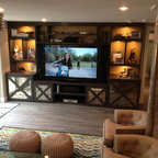Media Room Eclectic Home Theater Richmond By