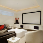 Audio Visual / Media Rooms - Contemporary - Home Theater - Vancouver - by Rollin Fox, Sleeping ...
