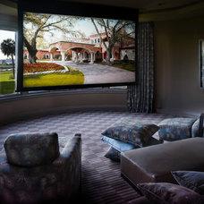 Contemporary Living Room by Alvarez Homes