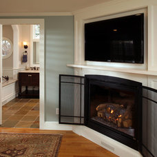 Traditional Home Theater by ARCHIA HOMES