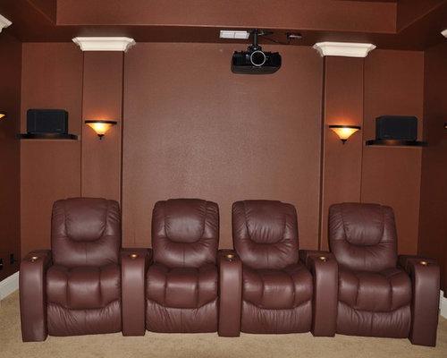 Dallas Tx Custom Home Theater Seating Palliser