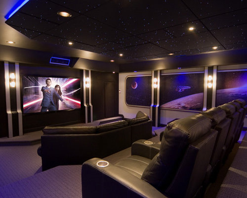 Home Theater Ceiling Ideas Pictures Remodel and Decor