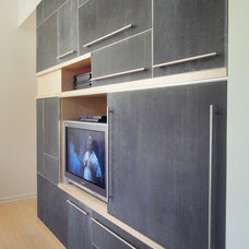 Modern Home Theater by Alloy Workshop