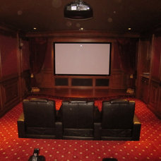 Traditional Home Theater by John Fabian
