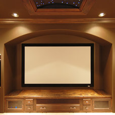 Traditional Home Theater by Home Design Center