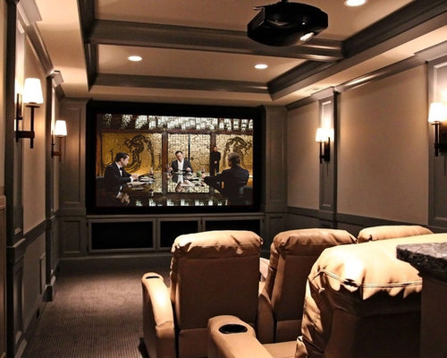 12x12 Home Theater Design Ideas Remodels Photos Houzz