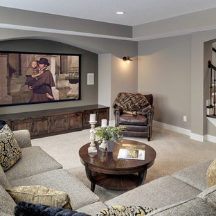 Theater Room - Coyote Song Model - 2014 Spring Parade of Homes