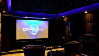 Theater Room in Great Falls, VA