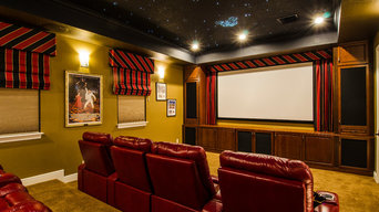 Theater Room with Full Home Automation