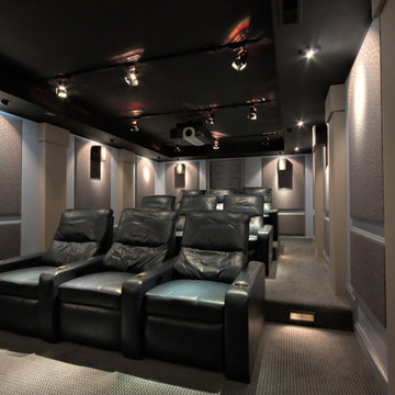 Theater Seating and Projector - Chicago, IL