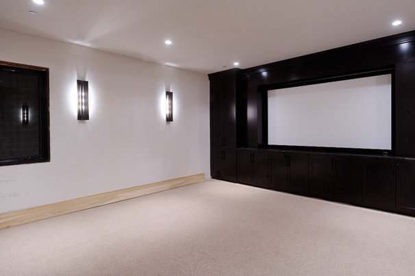 Contemporary Home Theater by Forum Phi - Architecture | Interiors | Planning