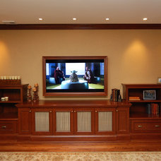 traditional home theater by AMI Designs