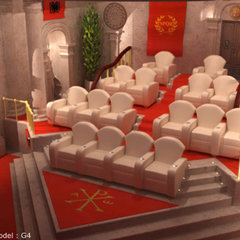 traditional media room by elitehts.com