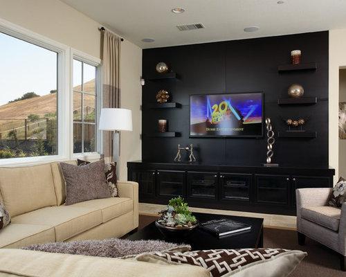 Example Of A Classic Home Theater Design In San Francisco