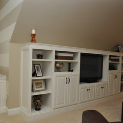 traditional media room by Driggs Designs