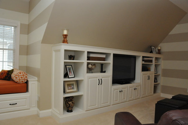 Traditional Home Theater by Driggs Designs