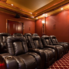 Traditional Home Theater by Starlight Home Theater