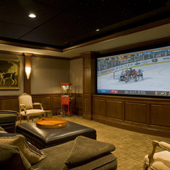traditional media room Traditional Media Room