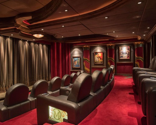 Best Home Theater Design Ideas Amp Remodel Pictures Houzz
