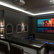 Transitional Home Theater by Platinum Series by Mark Molthan