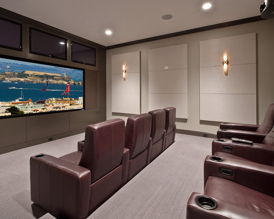 Home Theater Wall Panels acoustic home theater panels | houzz