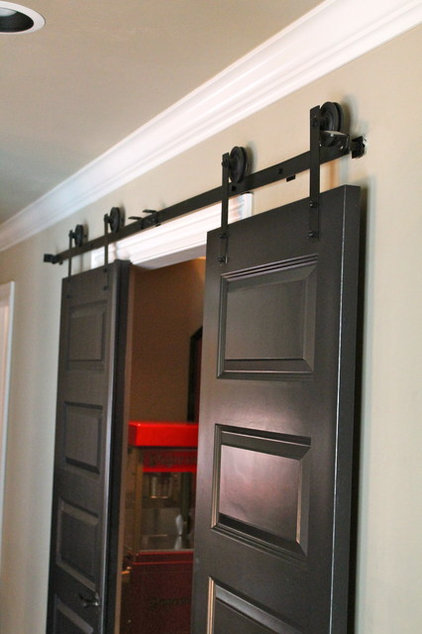 Traditional Home Theater by Richard Douglas Cabinets and Trim