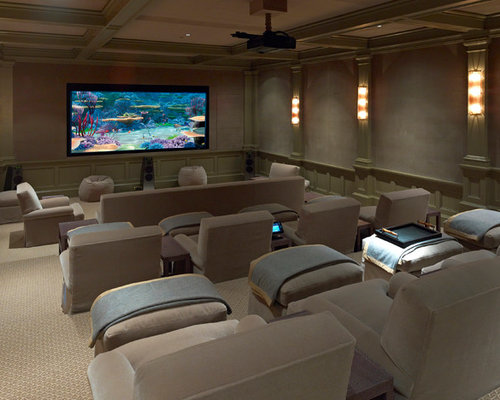 Best Dallas Home Theater Design Ideas & Remodel Pictures | Houzz