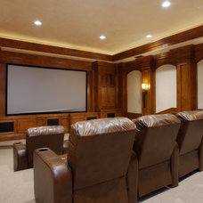 Home Theater by Architect Mark D. Lyon, Inc.