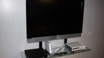 TV Smart Shelf installations