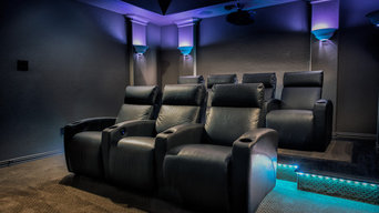 United Leather Custom Theater Seating in Frisco, TX