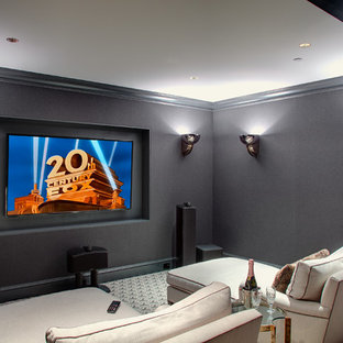 75 Beautiful Small Home Theater Pictures Amp Design Ideas