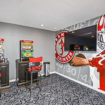 Upscale Theater Room (Game room)