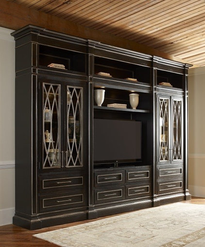 Traditional Home Theater by Habersham