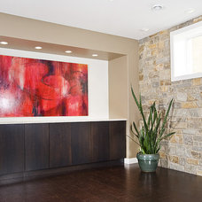Modern Home Theater by Home Completions