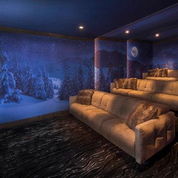 Villa Harrah Home Theater