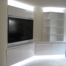Traditional Home Theater by THE CLOSET DEPOT Corp.
