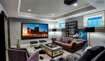 West Suburban Chicago Home Theater/ Media Room