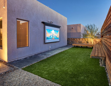 Westside El Paso Contemporary Outdoor Living